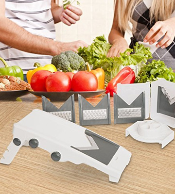 Review of Mueller Austria V-Pro 5 Adjustable Mandoline Slicer