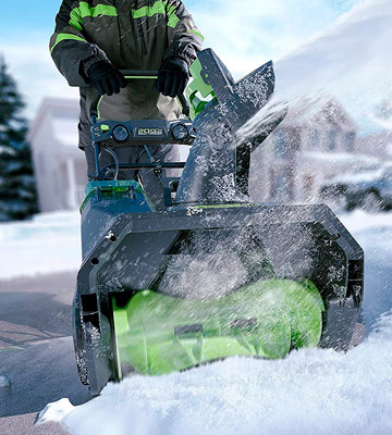 Review of GreenWorks Cordless Snow Thrower PRO 20-Inch 80V