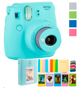 Fujifilm Instax Mini 9 (Kit) Instant Camera with Fuji Instant Film (40 Sheets)