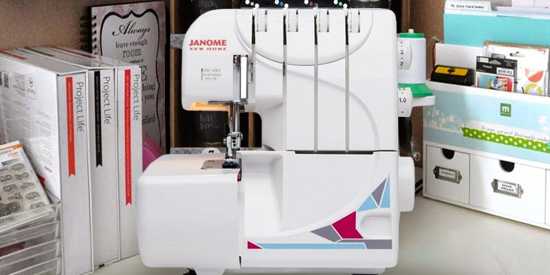 Review of Janome 3-4 Thread MOD-Serger with Lay-In Threading