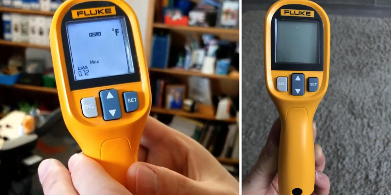 Review of Fluke 59 Max Infrared Thermometer