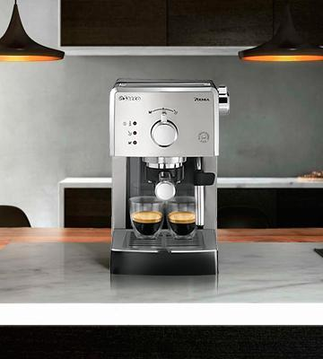 Review of Philips Saeco HD8327/47 Poemia Top Espresso Machine