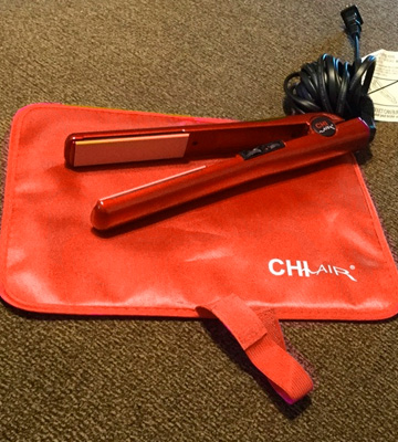 Review of CHI CA1013 Fire Red Tourmaline Ceramic Flat Iron