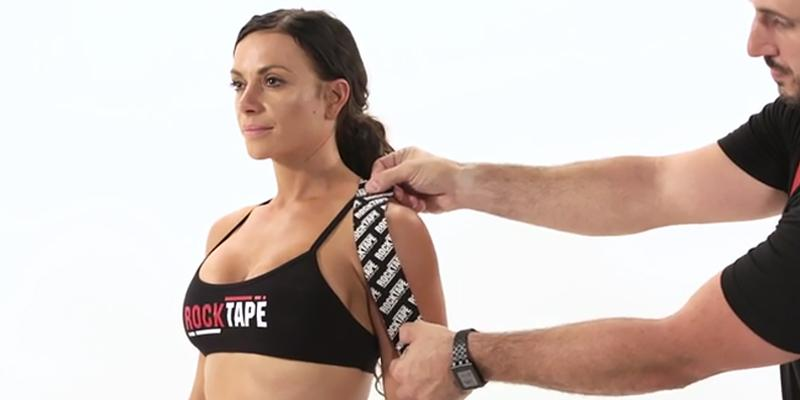 Review of Rocktape Water Resistant Kinesiology Roll Support Tape