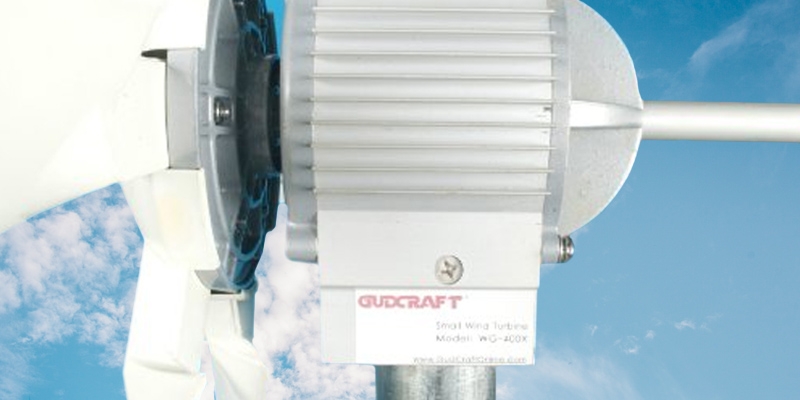Review of GudCraft WG400X Wind Generator