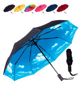 Rain-Mate Compact Travel Windproof Umbrella
