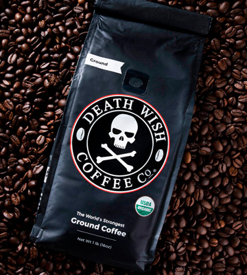 Review of Death Wish Coffee Company 1 Pound Smooth dark roast coffee