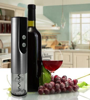 Review of Brewberry Stainless Steel Electric Wine Bottle Opener