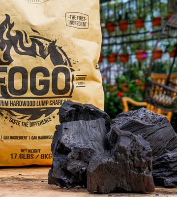 Review of Fogo 17.6-pound Super Premium Hardwood Lump Charcoal
