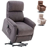 BONZY L6118A51-C159 Classic Power Lift Chair Soft and Warm Fabric