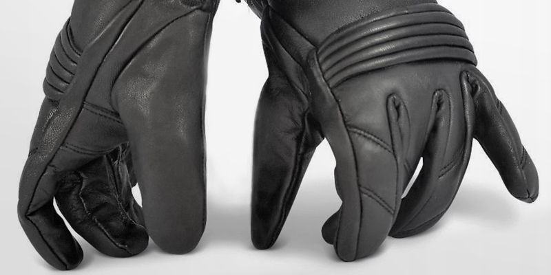 Review of Blok-IT Motorbikes all seasons Leather Motorcycle Gloves 3M Thinsulate Material