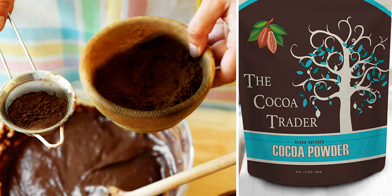 Review of The Cocoa Trader Black Cocoa Powder for Baking