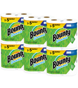 Bounty Quick-Size Family Rolls