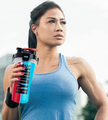 Review of Hydra Cup Dual Threat Shaker Bottle