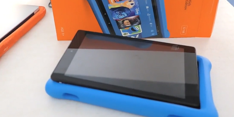 Detailed review of Amazon Fire HD 8 Kids Edition Tablet