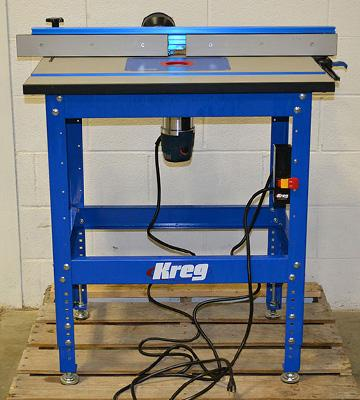 Review of Kreg PRS1045 Router Table System