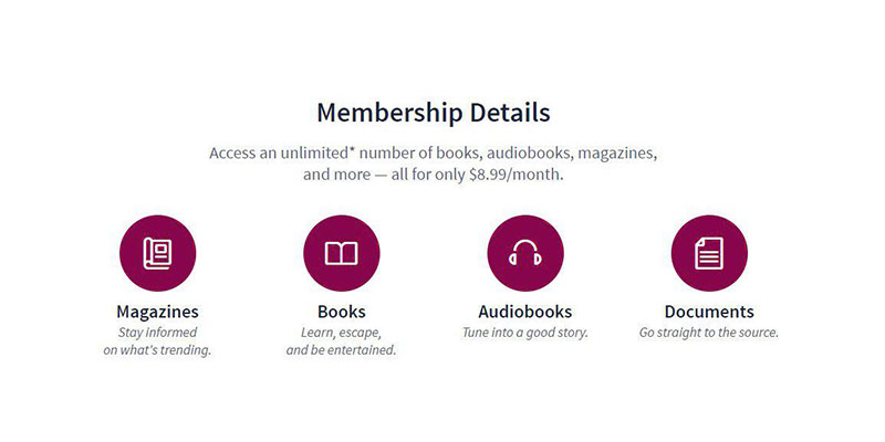 Scribd Audiobooks in the use