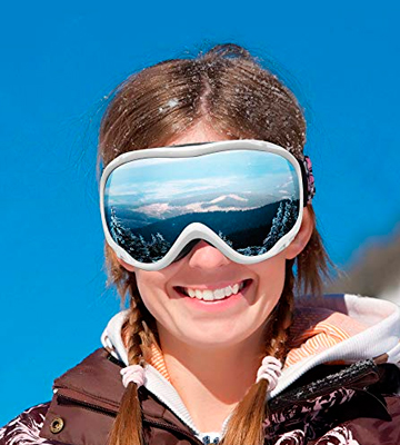 Review of Zionor Lagopus Ski Snowboard Goggles