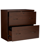 Z-Line Designs ZL2262-2ELU 2-Drawer Lateral File Espresso Cabinet