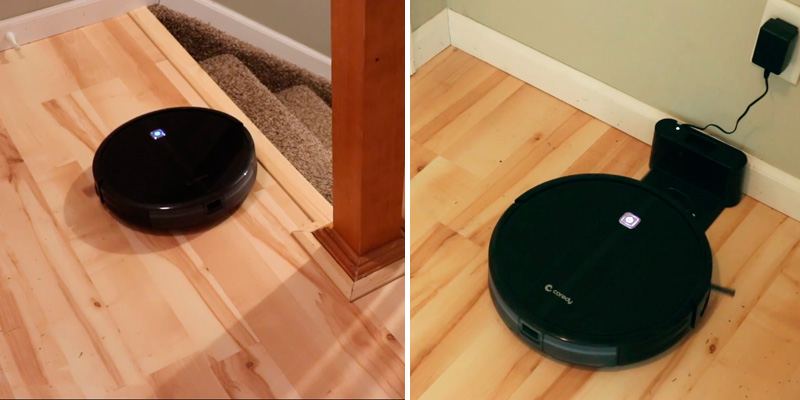 Review of Coredy Upgraded R3500S 1700Pa Powerful Suction Robotic Vacuum for Pet Hair