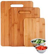 Totally Bamboo 3 Piece Cutting Board Set