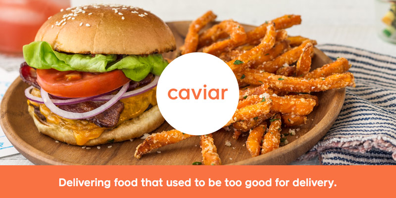 Review of Caviar Food Delivery