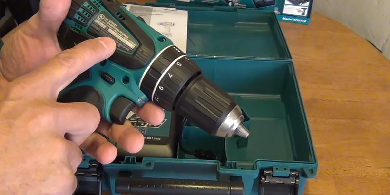Makita XPH102 Lithium-Ion Cordless Hammer Driver-Drill Kit in the use