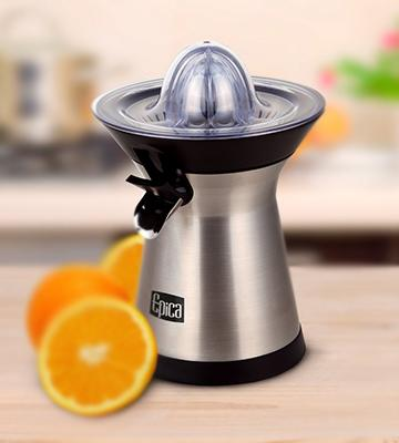 Review of Epica Powerful Whisper-quiet Citrus Juicer