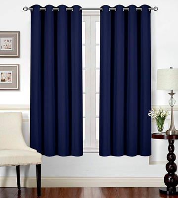 Review of Utopia Bedding UB0114 Blackout Room Darkening and Thermal Insulating Window Curtains
