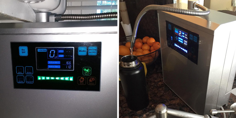 Detailed review of Platinum Alkaline Water Ionizer Machine