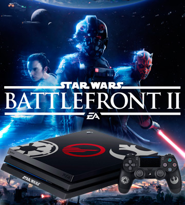 Review of Sony PlayStation 4 Pro Limited Edition Console Star Wars Battlefront II Bundle