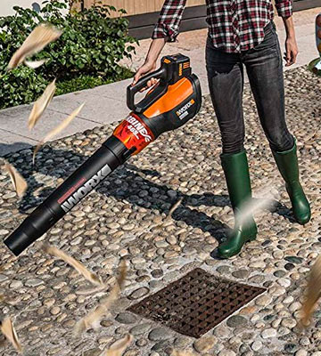 Review of WORX WG591 Turbine 56V Cordless Battery-Powered Leaf Blower with Brushless Motor & Turbo Boost