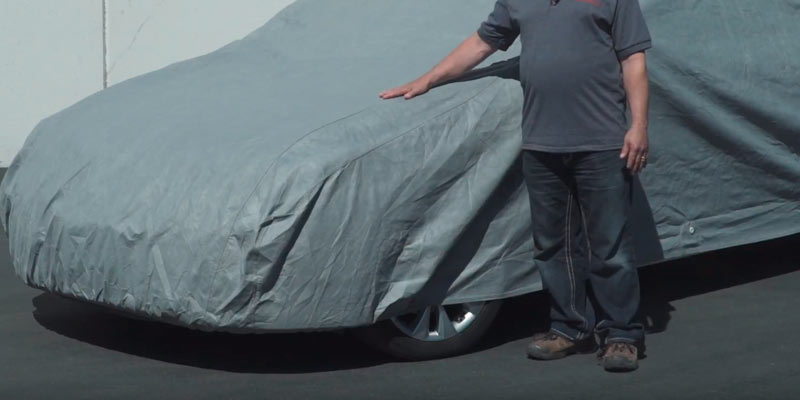 Classic Accessories 10-010-05100 OverDrive Full Size Sedan Car Cover in the use