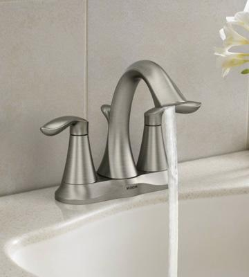 Review of Moen 6410BN Two-Handle Centerset Bathroom Faucet