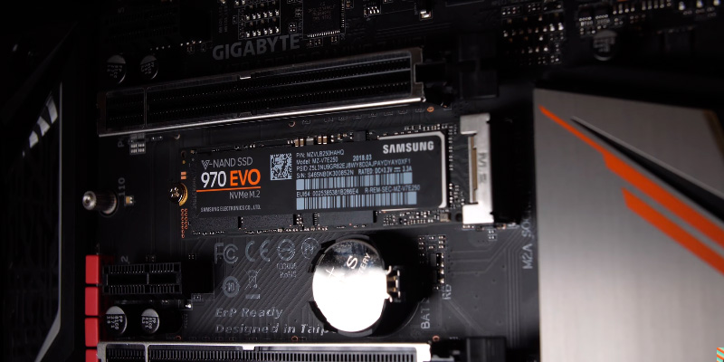 Samsung 970 EVO (MZ-V7E1T0BW) NVMe PCIe M.2 2280 SSD in the use