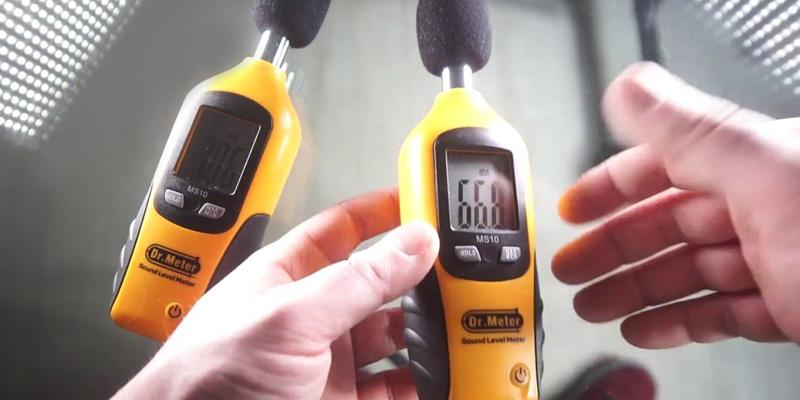 Review of Dr.Meter MS10 Digital Decibel