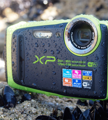 Review of Fujifilm XP120 (600019756) Shock & Waterproof Wi-Fi Digital Camera