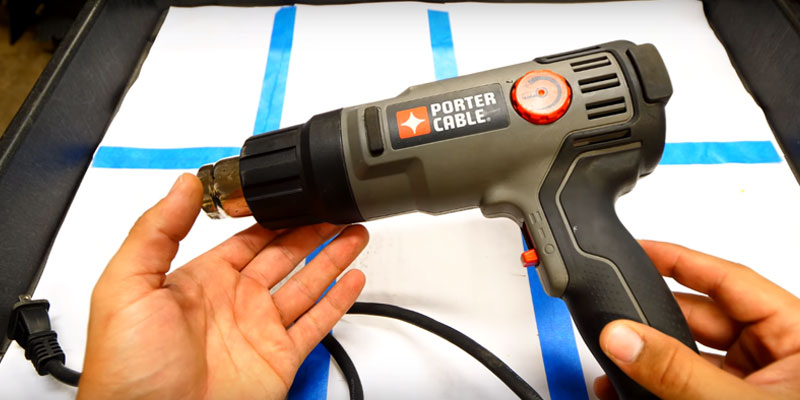 Review of PORTER-CABLE PC1500HG Heat Gun