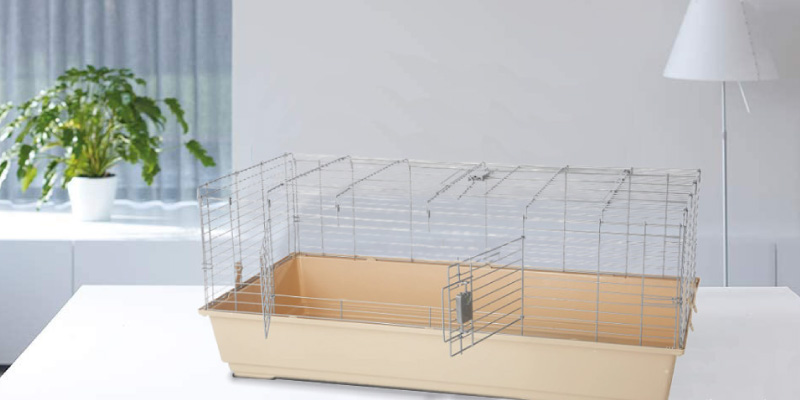 Review of AmazonBasics Small with Accessories Animal Cage