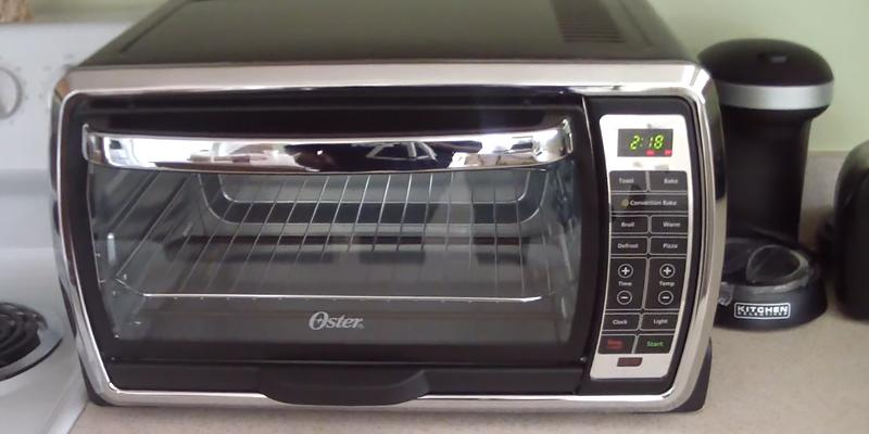 Oster TSSTTVMNDG Digital Convection Toaster Oven in the use