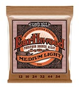 Ernie Ball Earthwood Medium Light Acoustic String