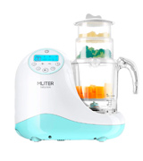 MLITER All in One Baby Food Maker with Steam Cooker, Blender, Chopper, Sterilizer & Warmer