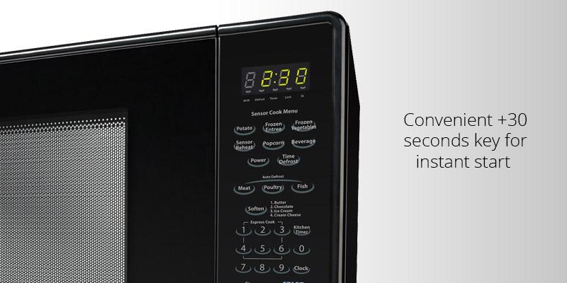 Sharp ZR559YK Countertop Microwave Oven in the use