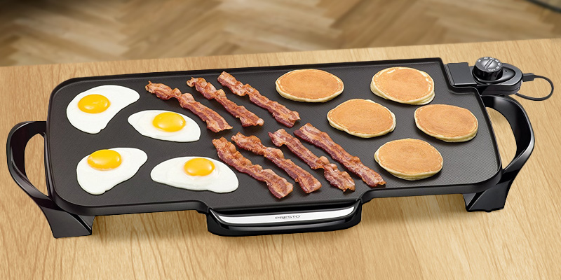 Review of Presto 07061 Electric Griddle With Removable Handles