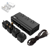 THZY Voltage Converter 220V to 110V with 4 USB Ports (5V/2.1A Each)