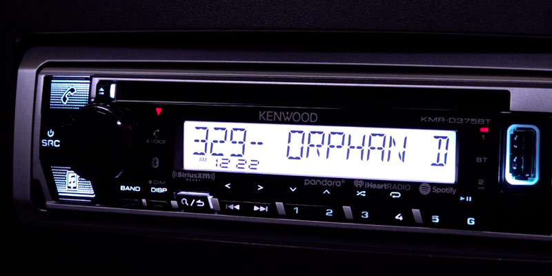 Review of Kenwood KMR-D375BT Marine CD Receiver