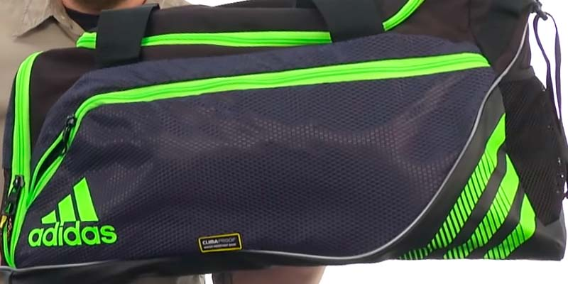 Adidas Team Speed Medium Duffel Bag in the use