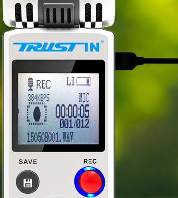 Review of Trustin TR6622 Portable Rechargeable 8GB
