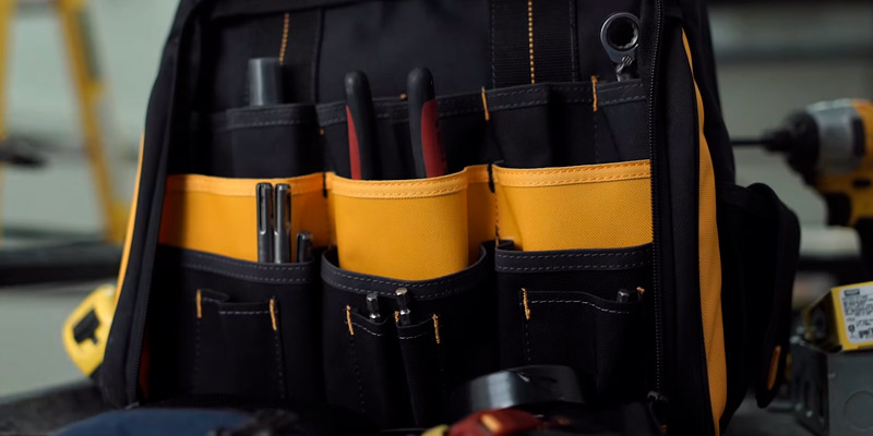 Review of DEWALT DGL523 57-Pockets Tool Backpack