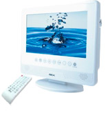 BEX Waterproof Bathing TV & DVD player